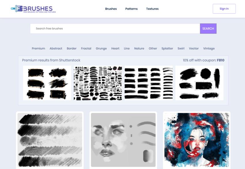 F brushes 無料 ブラシ 配布サイト