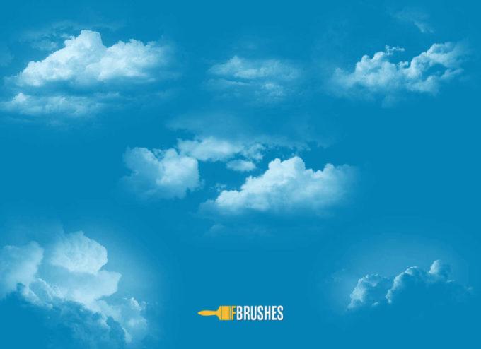 フォトショップ ブラシ 無料  雲 クラウド Vapored Atmosphere