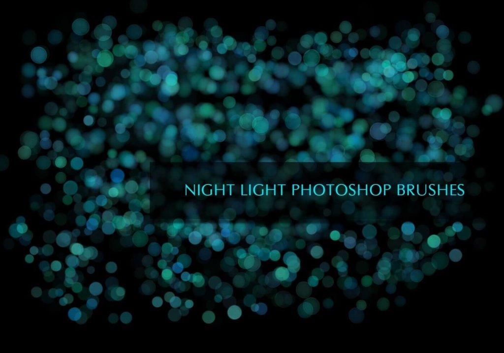 Photoshopのライトブラーブラシセットの紹介画像