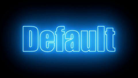 Saber Preset Default