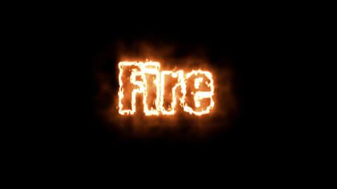 Saber Preset Fire