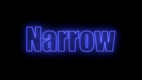 Saber Preset Narrow