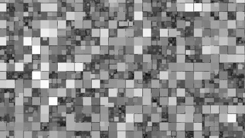 フルクタルノイズ設定、最大、ブロック