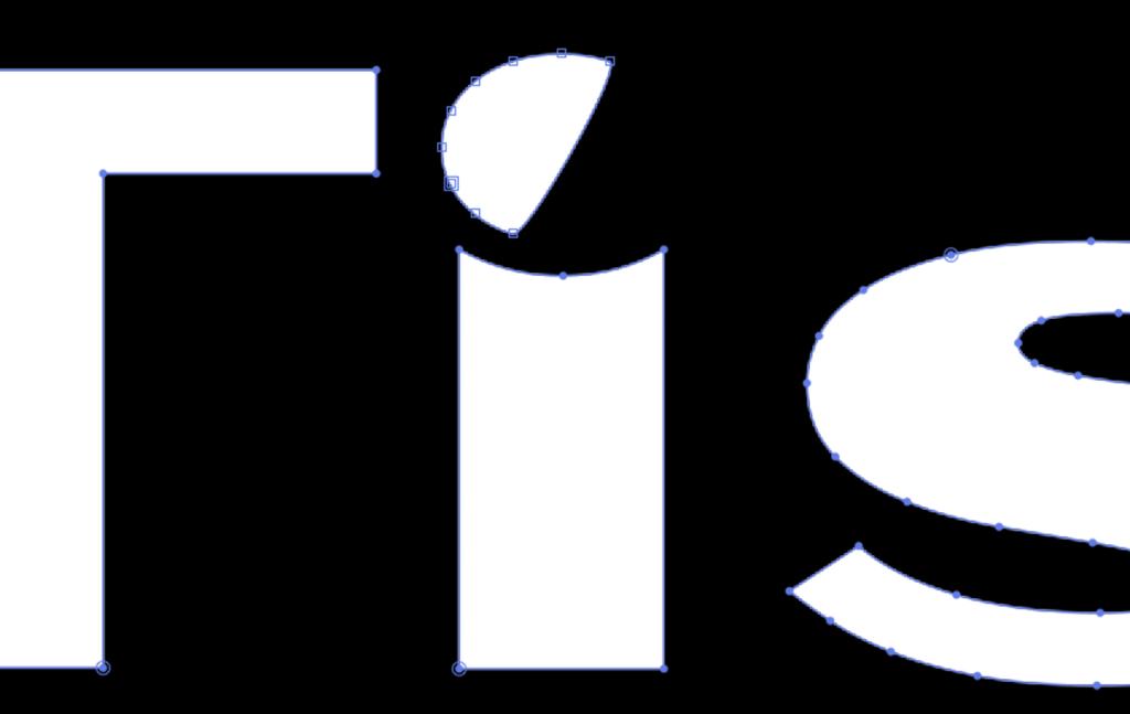 シェイプレイヤー(テキスト)のドットを『頂点を削除ツール』で削除