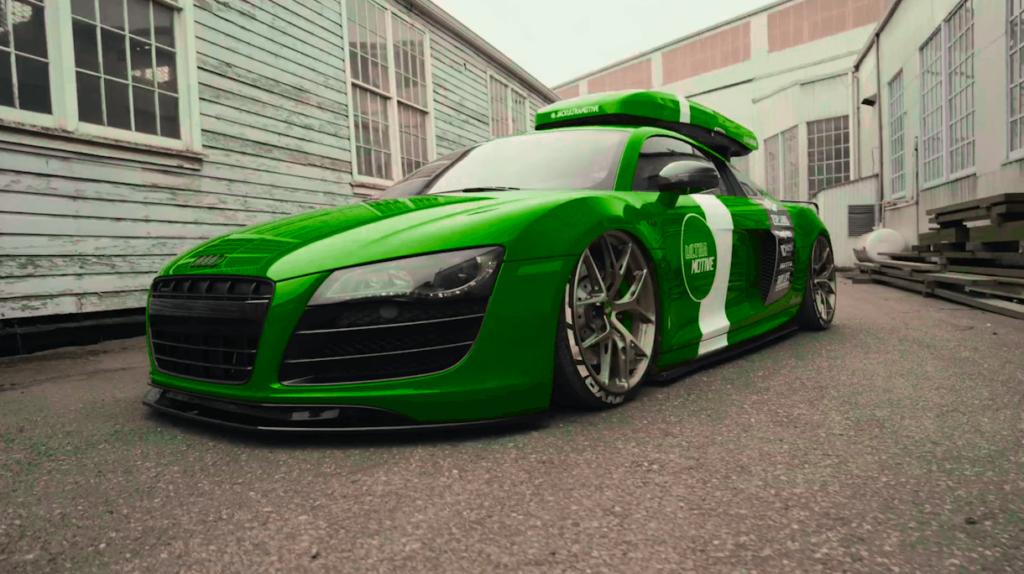 カラーを緑へ変更