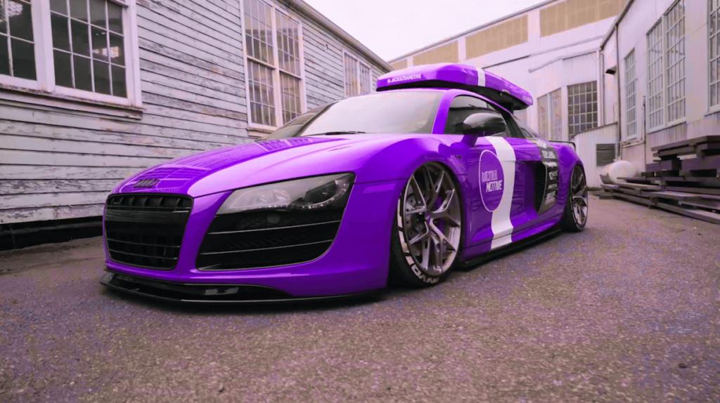 カラーを紫へ変更