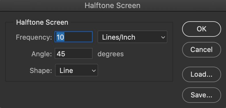 『Halftone Screen』