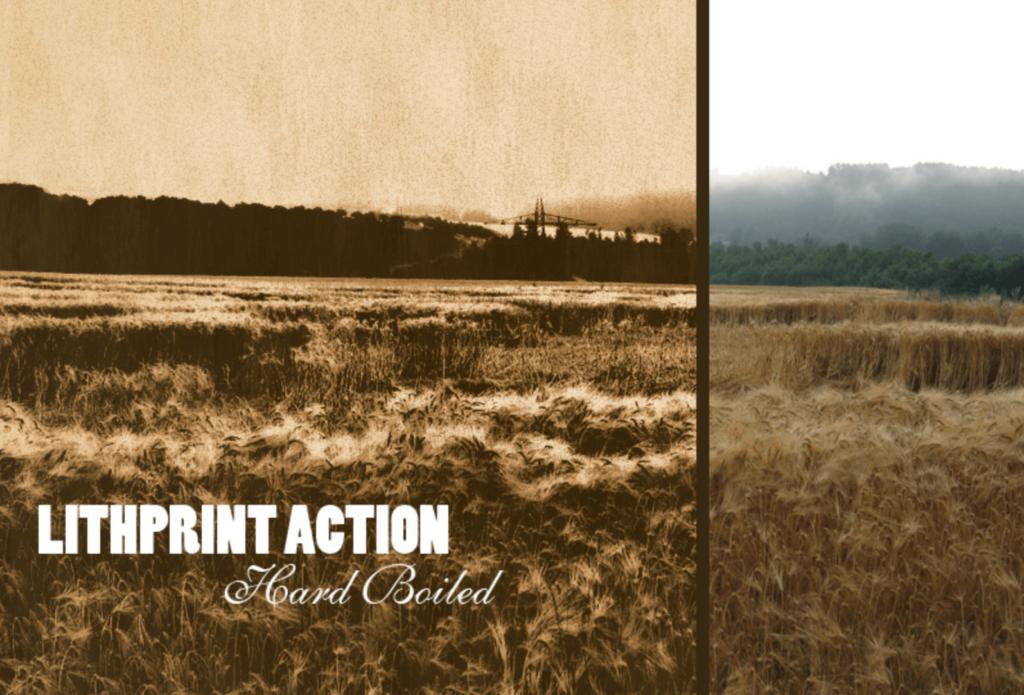 アクション素材(Lithprint Action)