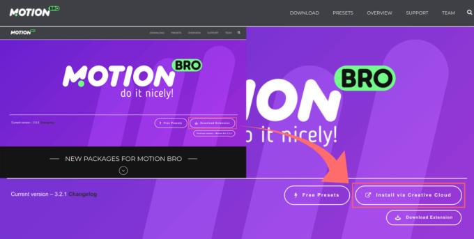 Motion Bro 最新 ダウンロード インストール 方法
