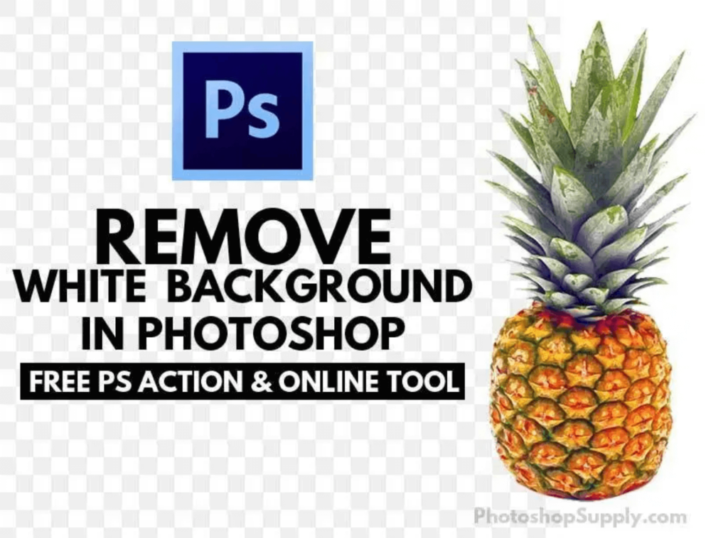 『REMOVE White Background』ダウンロードサイトPhotoshop Supply