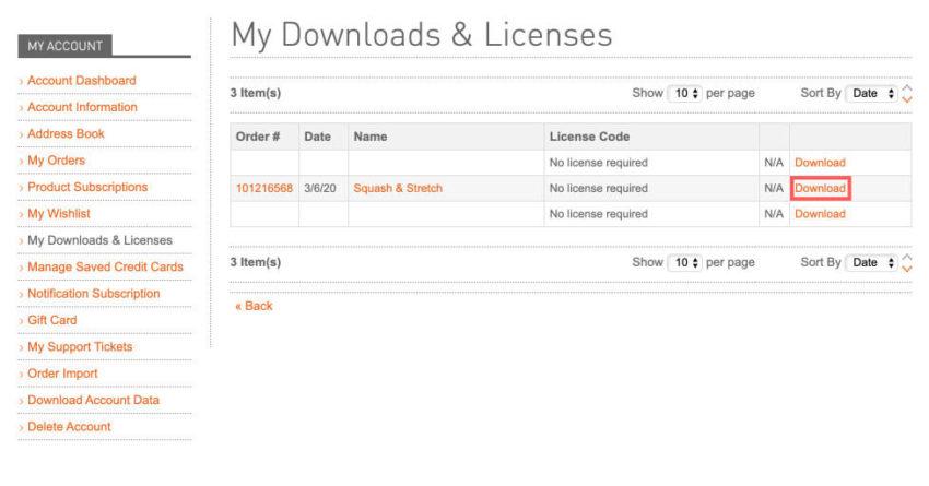 『Download』をクリック