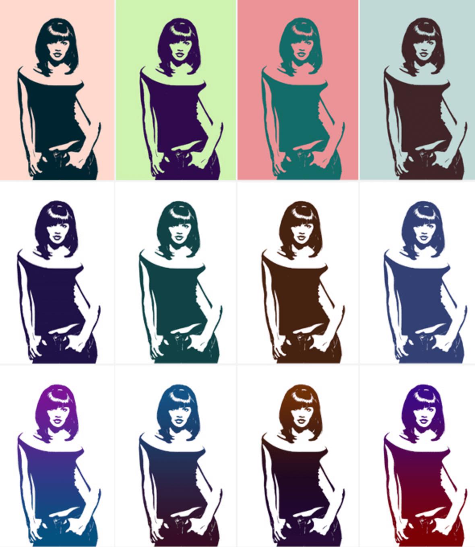 Photoshop action Vector Pop Art
