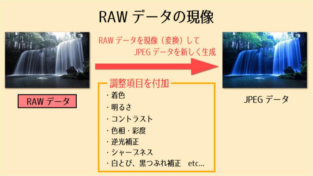 RAWデータの現像