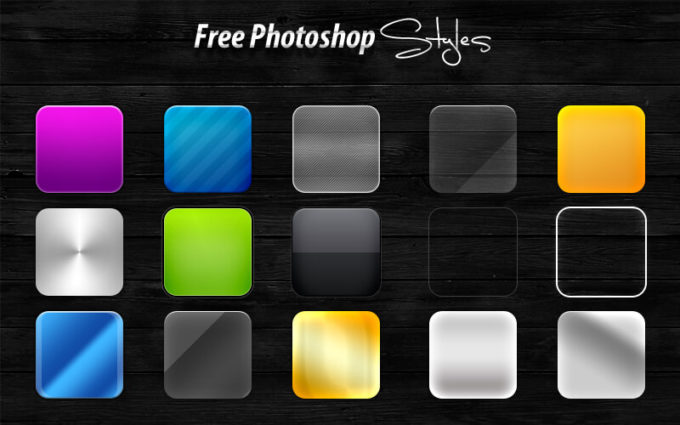15 Free Photoshop Styles