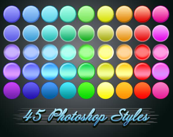 Photoshop Layer Style Free asl フォトショップ レイヤースタイル 無料 素材 おすすめ 45 caramel styles