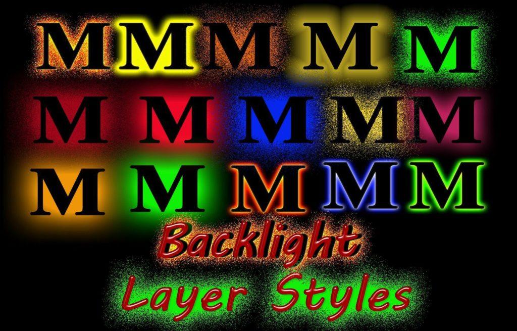 Back Light PS Styles