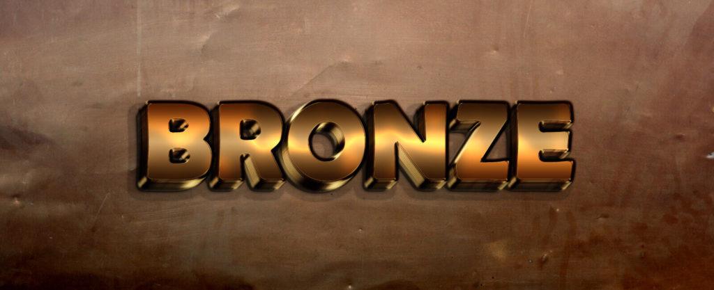 Bronze Text Style