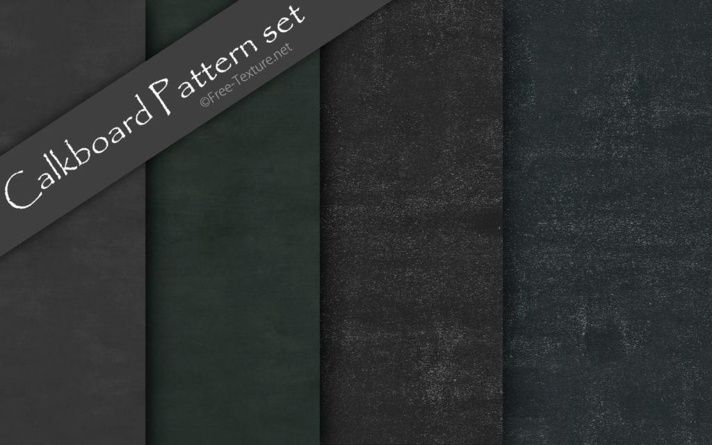 Photoshop Calkboard Pattern set
