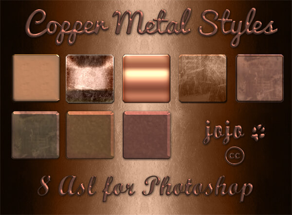 Copper Metal Styles