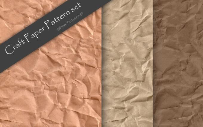 Photoshop Craft Paper Pattern set