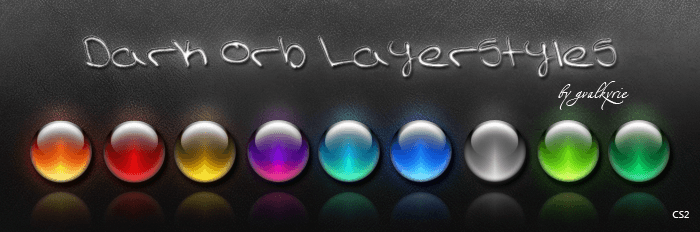 Dark Orb Layer Styles