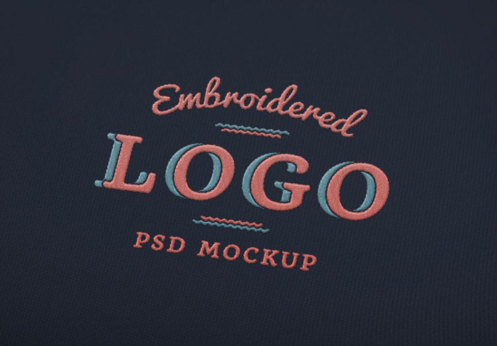 Embroidered Logo MockUp