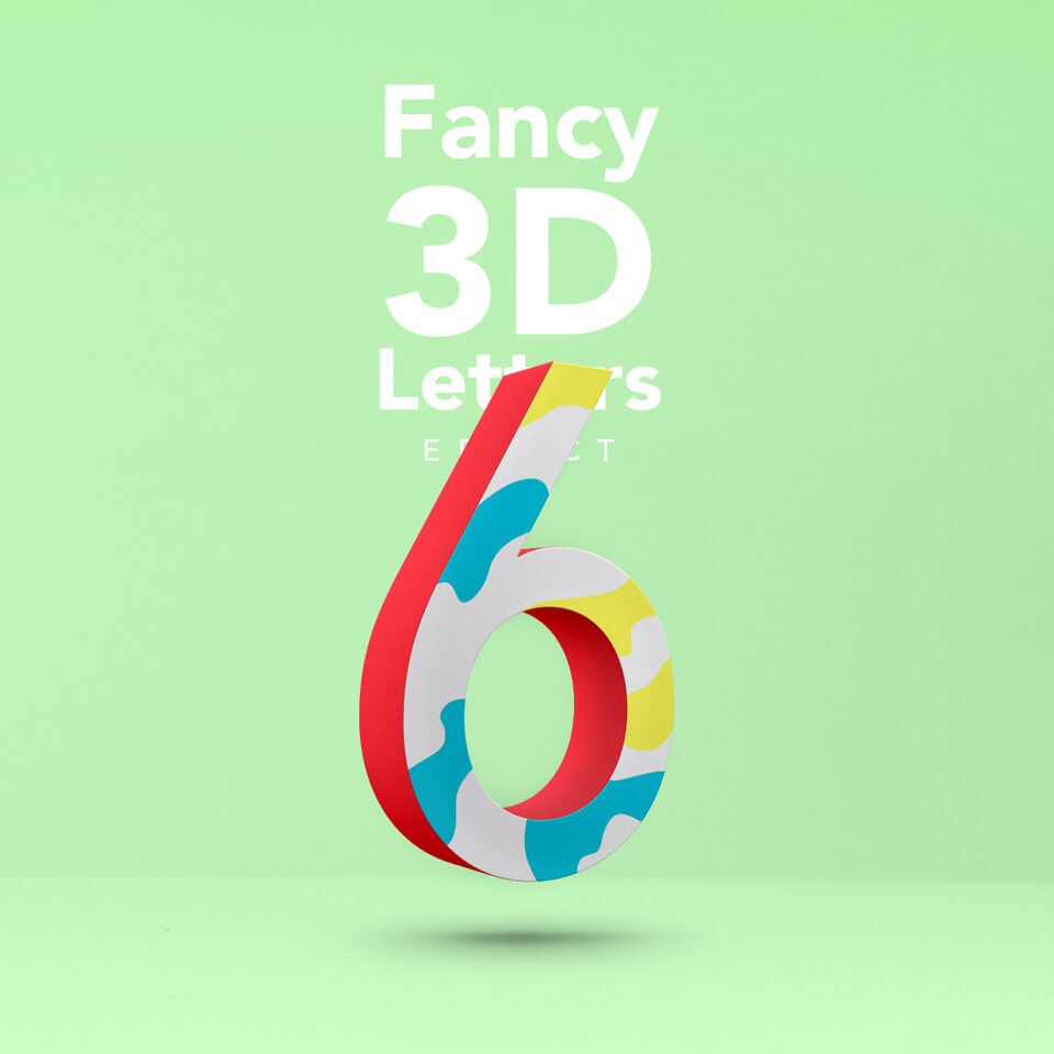 Fancy 3D Letters Effect