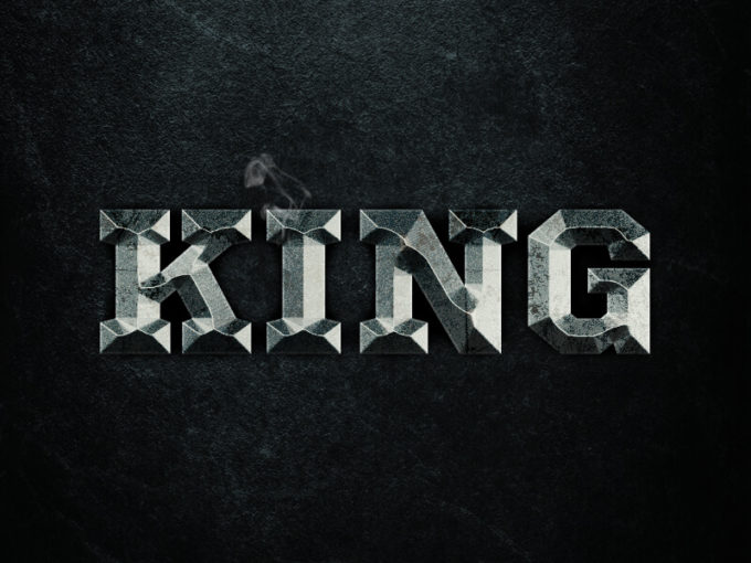 King - Free Photoshop Layer Style