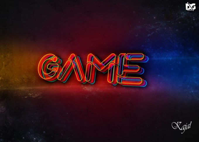FREE PSD NEON TEXT EFFECTS