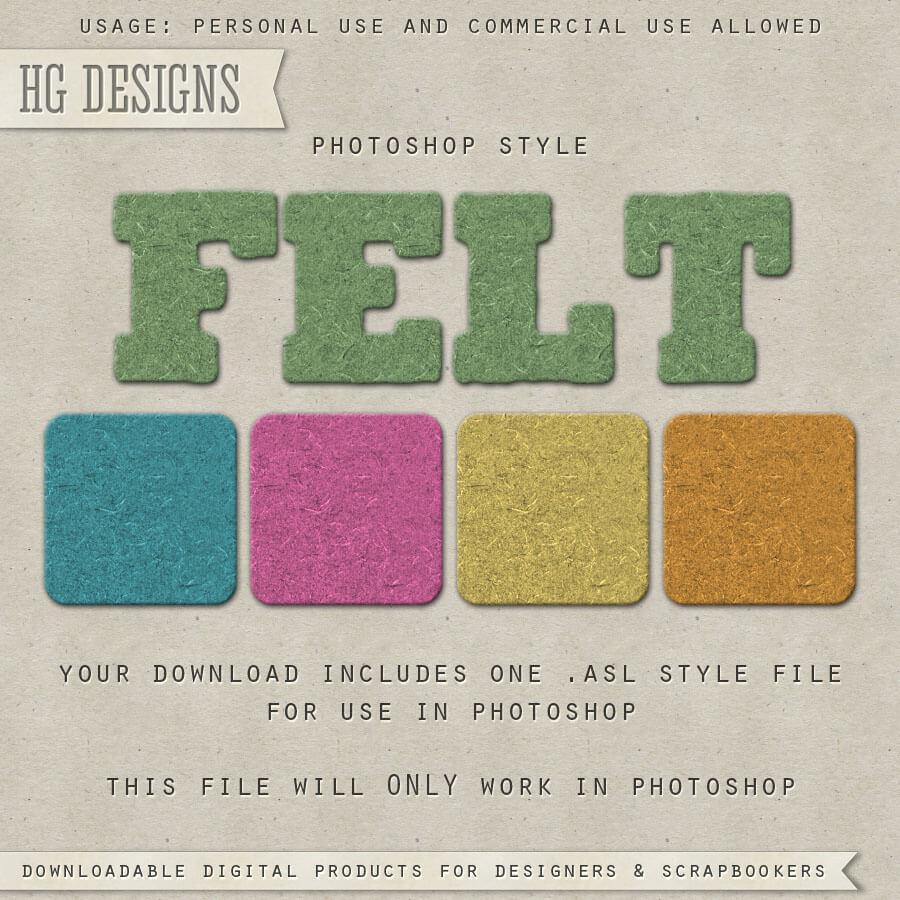 PS Style: Felt