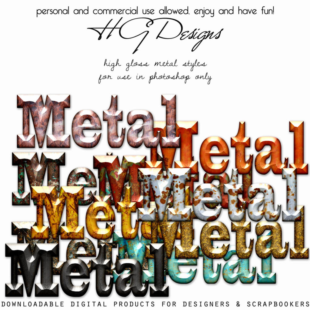 High Gloss Metal Styles