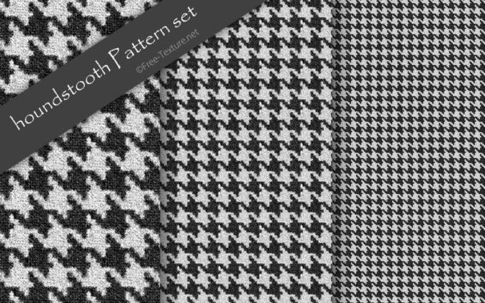 Photoshop houndstooth Pattern set
