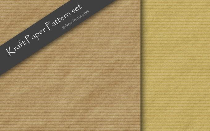Kraft Paper Pattern set