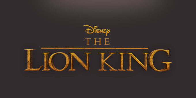 Free Lion King PSD text style