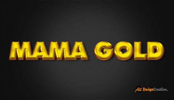 Mama Gold Effect