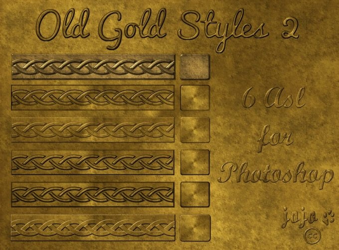 Old gold styles 2