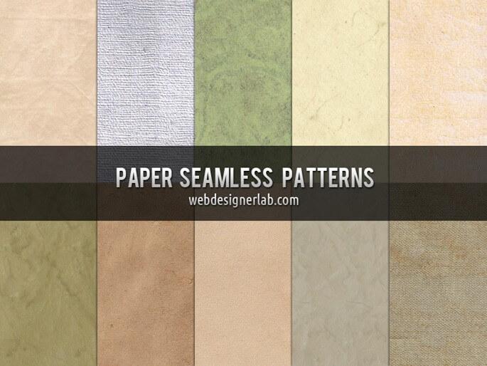 PAPER SEAMLESS PATTERNS