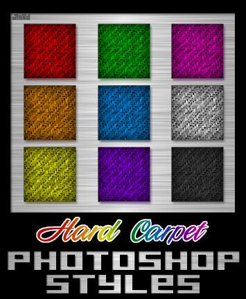 Photoshop Styles - Hard Carpet