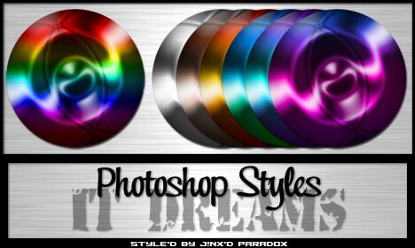 Photoshop Styles - It Dreams