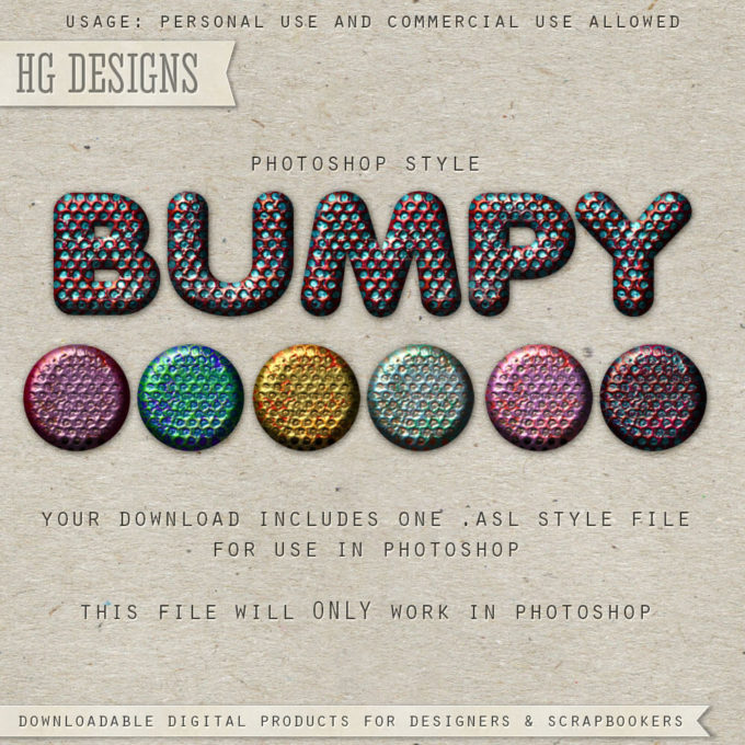 PS Style: Bumpy