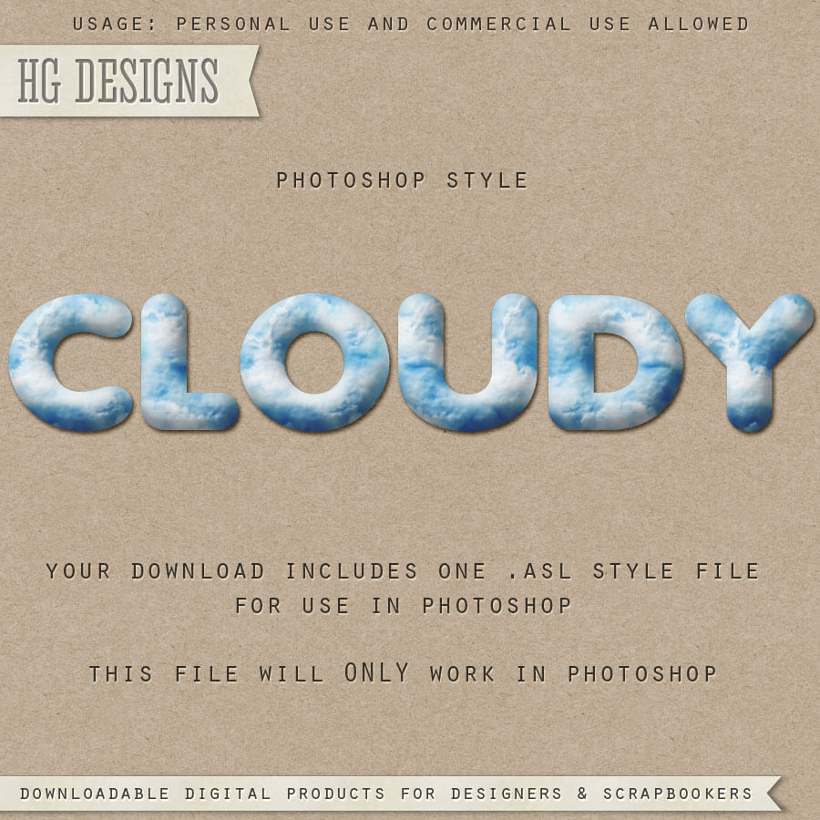 PS Style: CLOUDY