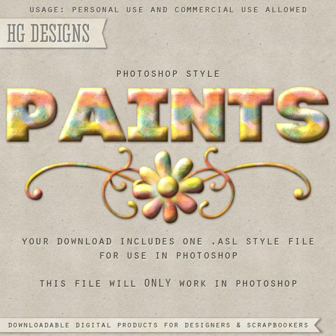 PS Style: PAINTS