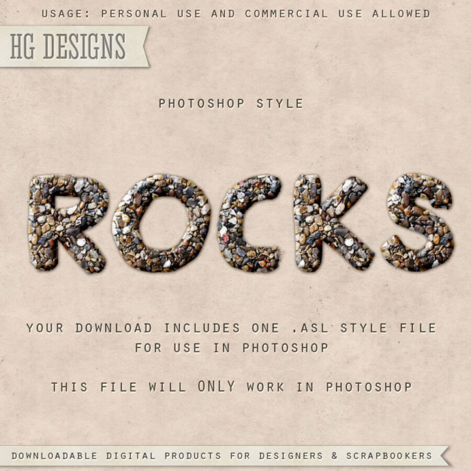 PS Style: ROCKS