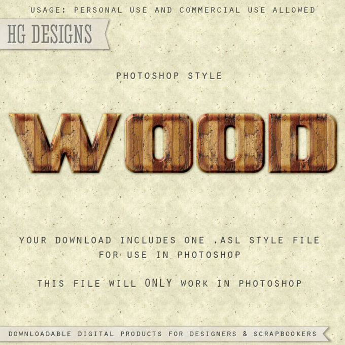 PS Style: WOOD