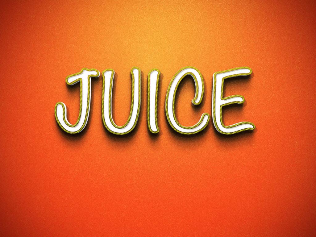 text juice