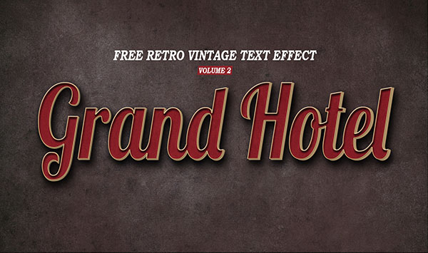 TEXT EFFECTSRetro Vintage Text Effect Volume 2