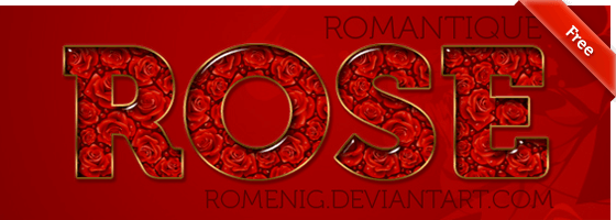 ROMANTIQUE ROSES LAYER STYLE