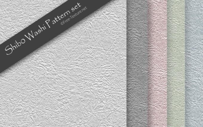 Photoshop Shibo Washi Pattern set