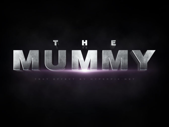 The Mummy Text Effect