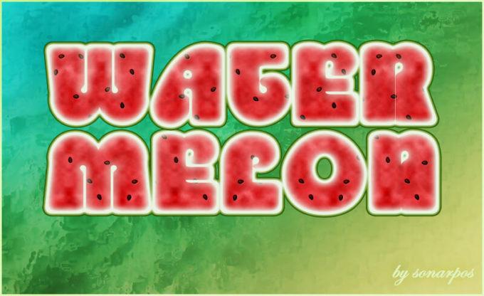 Watermelon style